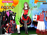 Doris Punk Girl Dressup