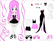 Kiss Doll Dress Up