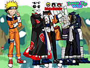Naruto and Friends Dress Up