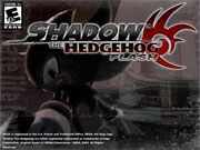 Sonic - Shadow The Hedgehog