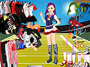 Sports Girl Dressup