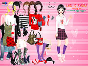 Cartoon Print Dressup 2