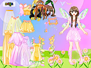 Pink Fairy Dressup