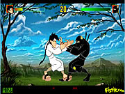Click to Play Karate Kamil vs Ninja Nejat