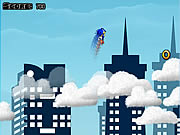 Sonic on Clouds Icon