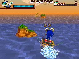 Sonic Rush Adventure Flash Icon