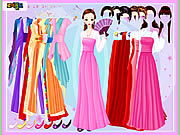 Gown and Robe Dressup games